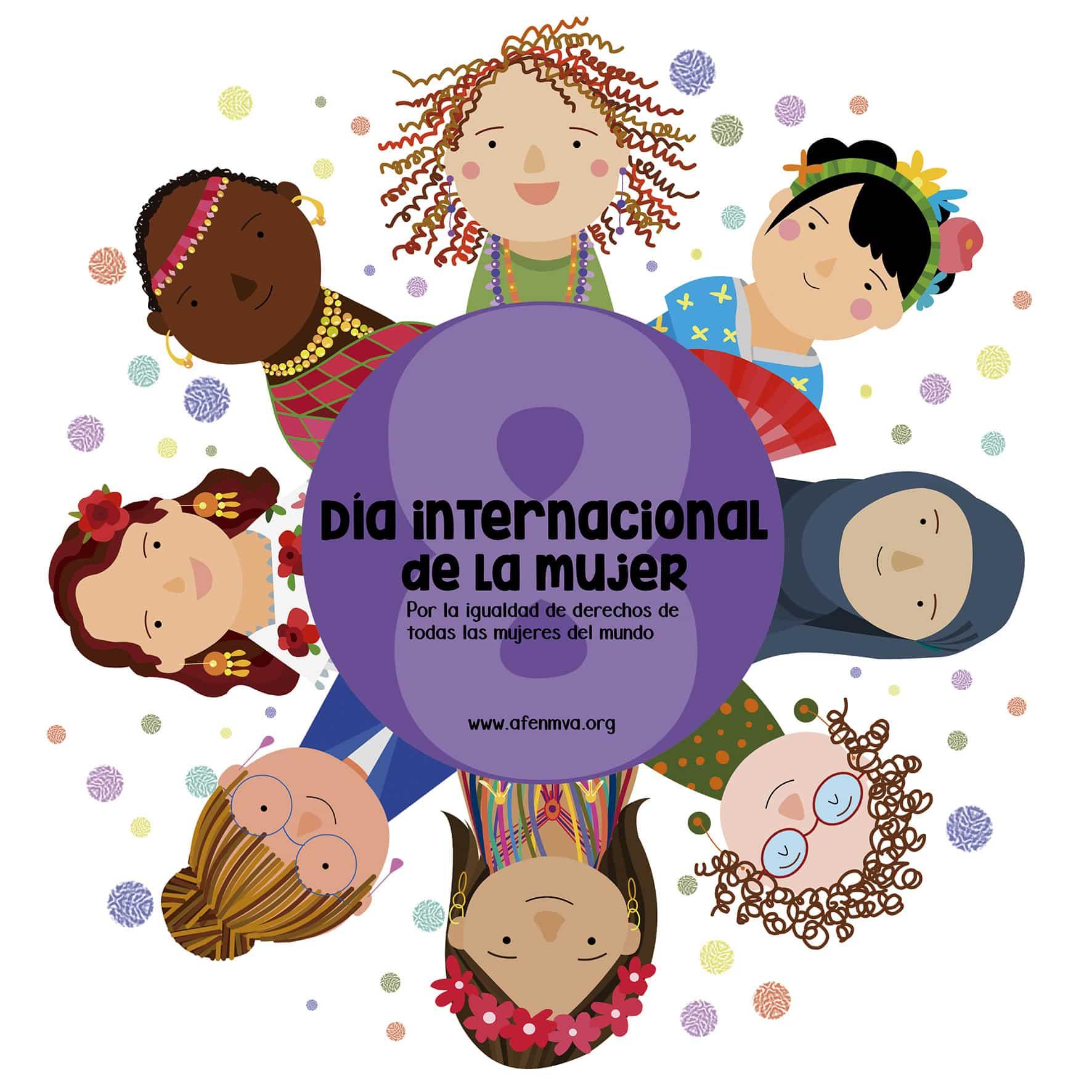 Dia internacional Mujer-redes