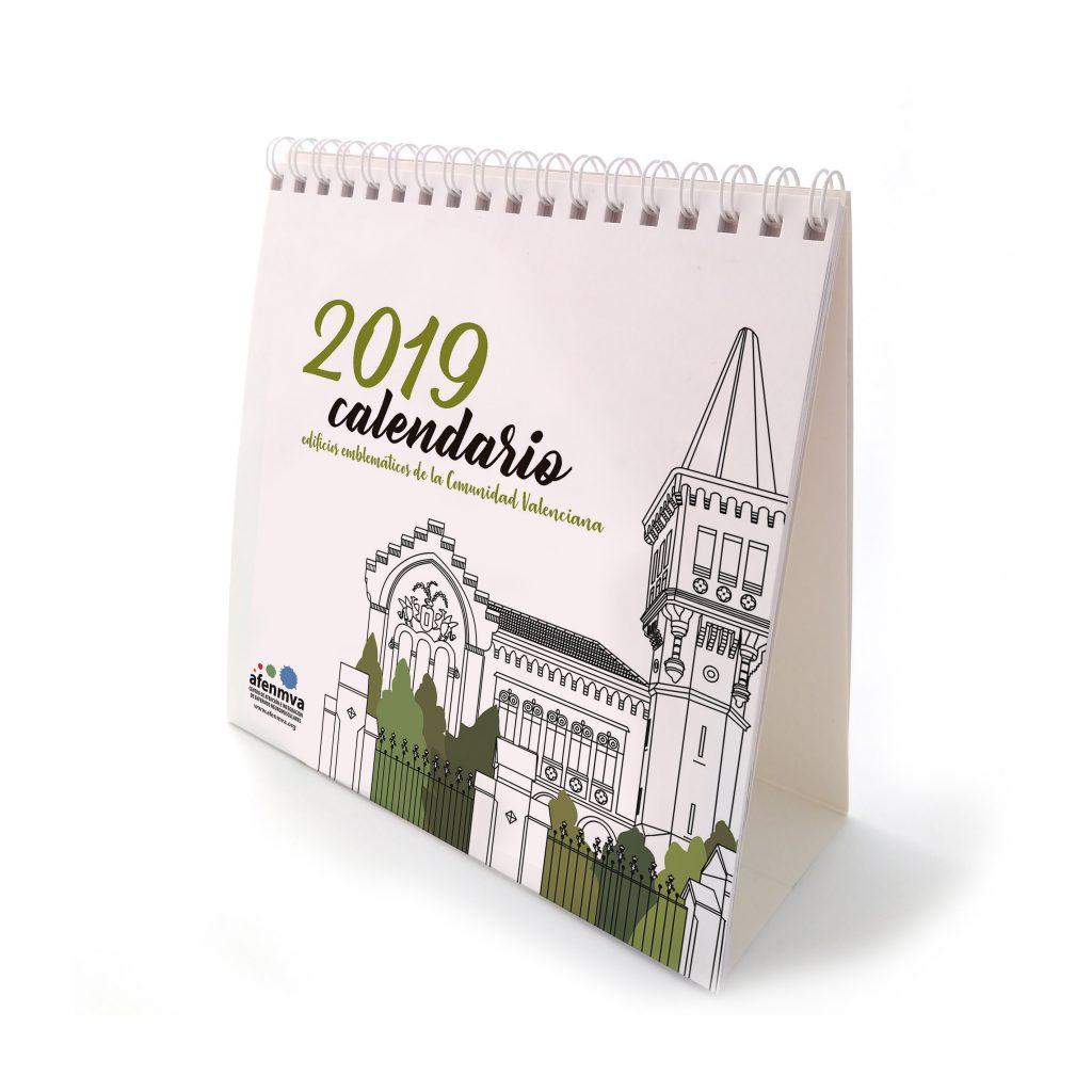 Portada calendario 2019